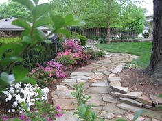 10 Stunning Diy Rock Pathway Ideas 1