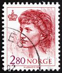 Norway, Queen Sonja stamp, 1992
