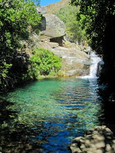 Places In Portugal, Visit Portugal, Rio, Places To Travel, Places To Visit, Natural Swimming Pools, Amazing Nature, Great Photos, Nature Photography