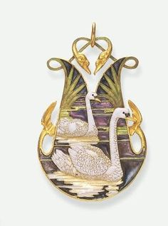 René Lalique pendant ca. 1900 by gwendolyn