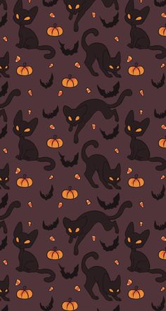 iPhone X Wallpapers: Photo Witchy Wallpaper, Cute Fall Wallpaper, Halloween Wallpaper Iphone, Holiday Wallpaper, Halloween Backgrounds, Cute Wallpaper Backgrounds, Phone Backgrounds, Cool Wallpaper, Pattern Wallpaper