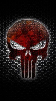 wallpapers The Punisher Skull 360 X 640 Wallpapers disponible para su descarga gratuita. Punisher Marvel, Punisher Logo, Punisher Skull, Marvel Comics, Daredevil, Black Phone Wallpaper, Skull Wallpaper, Skull Logo, Skull Art