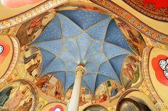 Inside the chapel of a castle near Bonn, Germany