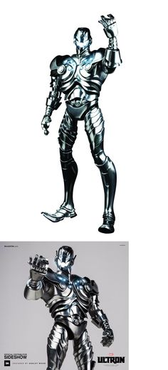 Designer and Urban Vinyl 158672: 3A X Classic Edition Ultron 1 6 Scale Collectible Figure Threea Marvel -> BUY IT NOW ONLY: $94.99 on eBay!