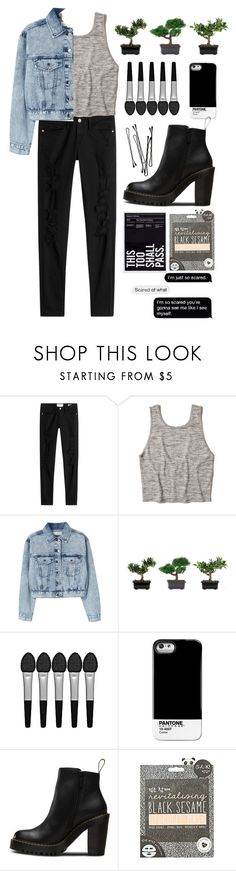 """wondering if I dodged a bullet or just lost the love of my life"" by daisiesxflowers ❤ liked on Polyvore featuring Frame, Hollister Co., MANGO, Nearly Natural, Sephora Collection, Case Scenario, Magdalena, BOBBY and Topshop"