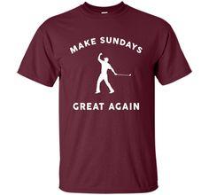 Make Sundays Great Again Golf Shirt