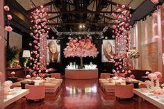 foto de decoração com detalhes rosa