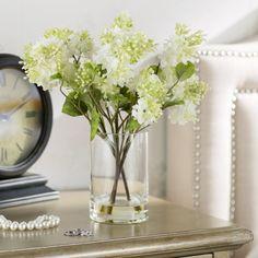 Found it at Wayfair - Quincy Lilac Silk Flower Arrangement in Vase Artificial Floral Arrangements, Silk Flower Arrangements, Flower Vases, Artificial Flowers, Flower Diy, Lilac Flowers, Faux Flowers, Vases Decor, Centerpieces