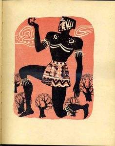 Anansi the Spider: A Tale from the Ashanti; Dade , Bernard . Pavuk African tale. Translated from the French and processing B. Pashchenko . Painter Eugene Monin . K .: Ditvidav . 1958, Ukranian