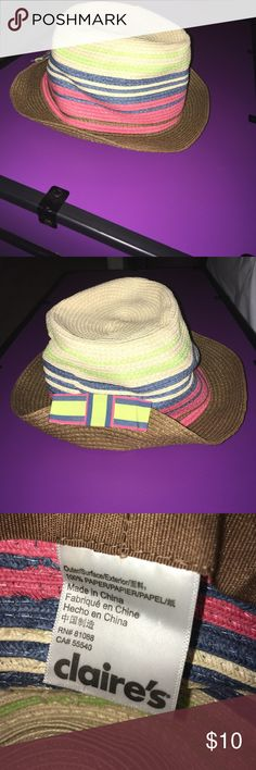 Colorful Fedora Colorful Fedora from Claire's Claire's Accessories Hats