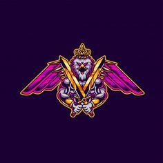 Team Logo Design, Logo Desing, Logo Design Template, Logo Templates, Love Hate Tattoo, Logo Esport, Wolf Spirit Animal, Esports Logo, Bird Logos