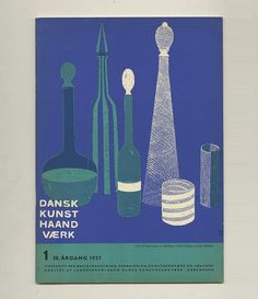 1957 Danish Craft DESIGN Dansk Kunsthåndværk GLASS Murano Venini SAXBO Malmö Mus