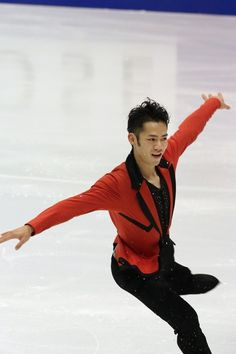 SAPPORO, JAPAN - DECEMBER 21: Daisuke Takahashi competes in the Men's Short Program during day one of the 81st Japan Figure Skating Championships at Makomanai Sekisui Heim Ice Arena on December 21, 2012 in Sapporo, Hokkaido, Japan.
