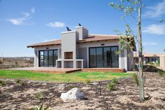The house is located near the beautifully landscaped walkways towards the Langebaan Country Estate Clubhouse and the Oxigym. Garden Landscape Design, Garden Landscaping, Building Contractors, Country Style Homes, Country Estate, Interiores Design, Lawn And Garden, Pergola, Exterior