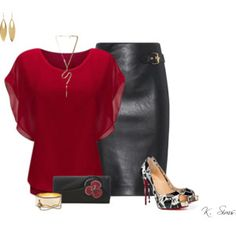 Leather & Louboutins