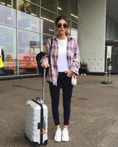 Airport Look - Helena Bordon