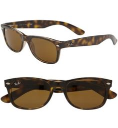 Ray-Ban Wayfarer, the only sunglasses I have worn since high school.  Somethings NEVER go out of style.