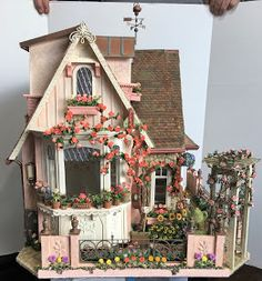 My Miniature Madness: Growing A Cottage Garden Part 9 - My Miniature Madness: Growing A Cottage Garden Part 9 Best Picture For garden sofa For Your Taste - Victorian Cottage, Victorian Dollhouse, Modern Dollhouse, Diy Dollhouse, Dollhouse Furniture, Miniture Dollhouse, Dollhouse Tutorials, Victorian Dolls, Barbie Furniture