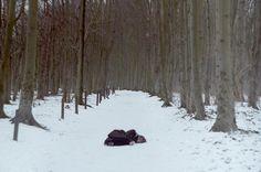 I N   C A S A for Organiconcrete, a personal story by Giulia Bersani & Janine Mizéra  on Behance   Photography   Photo   Fotografia   Woman   Girl   Snow   Cold  