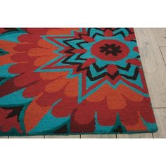 Nourison Suzani Teal Area Rug x Blue Teal Rug, Teal Area Rug, Area Rugs For Sale, Rug Material, Indoor Rugs, Rectangle Shape, Online Home Decor Stores, Wool Area Rugs, Persian Rug
