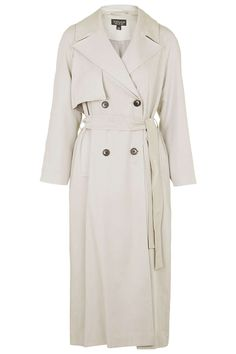 Longline Lightweight Trench Coat - Jackets & Coats - Clothing - Topshop