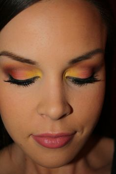 Sunset Makeup! and tons more makeup ideas