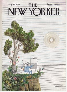 Saul Steinberg - cover for The New Yorker