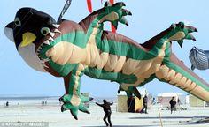 Kite Festival in Pas de Calais, France (April)