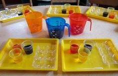 art and soul preschool: Color Mixing With Cornstarch