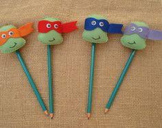 Lápis Tartarugas Ninja - lembrancinha