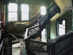 Bethlehem Steel.....I swear this staircase has made several appearances in an occassionally re-occuring nightmare of mine.