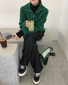 Aesthetic Fashion, Aesthetic Clothes, Casual Outfits, Fashion Outfits, Womens Fashion, Only Clothing, Cold Weather Outfits, Fashion Design Sketches, Minimal Fashion