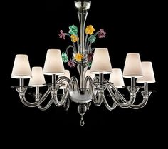 Chandeliers Barovier & Toso Murano glass