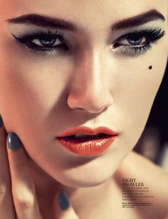 Rudi by Zhang Jingna for Harper's Bazaar Singapore #beauty #makeup #editorial