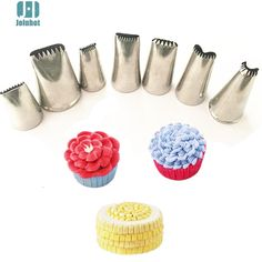 Aliexpress.com : Buy Baking tools 7 pcs  Sawtooth nozzles Creative Icing Piping Nozzle Pastry Tips Sugar Craft Cake Decorating Tools from Reliable tool suppliers on China kitchenware wholesale store