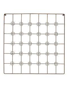 quadratischer kartenhalter