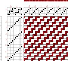 draft image: Figure 58, An Album of Textile Designs, Thos. R. Ashenhurst, 5S, 10T