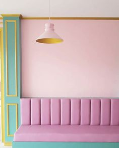 Home Decoration Ideas Storage pastel pink green and yellow interior of caf congreso in the Philippines.Home Decoration Ideas Storage pastel pink green and yellow interior of caf congreso in the Philippines. Interior Pastel, Yellow Interior, Cafe Interior, Interior Design, Pastel Home Decor, Interiores Art Deco, Wes Anderson Color Palette, Modern Art Deco, Shop Interiors