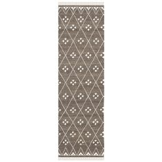 Safavieh Hand-woven Natural Kilim Brown/ Ivory Wool Rug (2'3 x 8') - Overstock™ Shopping - Great Deals on Safavieh Runner Rugs