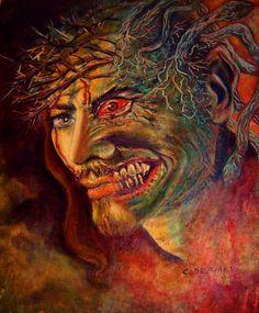 50x60  olio  su  tela    conoscenza  universale ......cristina  de  biasio