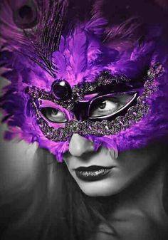 Carnaval de Venise. ..masque