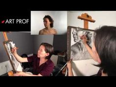 Art Prof, Part 17 of Charcoal Drawing Demo. Art Prof is a free, online educational platform for visual arts created for people of all ages and means. Created by RISD Adjunct Professor Clara Lieu and Thomas Lerra. Charcoal Drawing, Visual Arts, Art Techniques, Art Tutorials, Professor, Art Ideas, Platform, Fine Art, Education