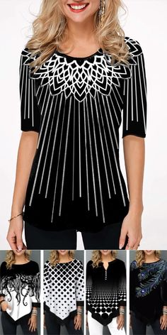 trendy tops for women online on sale Trendy Tops For Women, Stylish Tops, Casual Chique, Mode Top, Moda Casual, African Print Fashion, Looks Style, Women Swimsuits, Womens Fashion