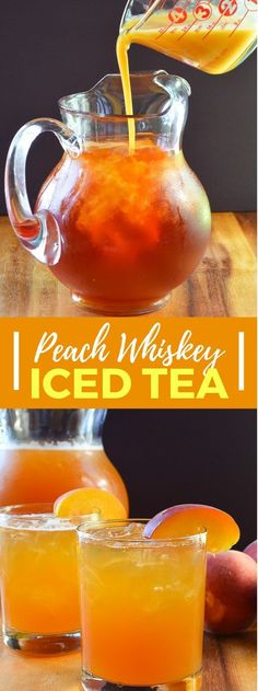 Peach Whiskey Iced Tea Is A Refreshing Cocktail Recipe Perfect ; pfirsich-whisky-eistee ist ein erfrischendes cocktail-rezept perfekt Peach Whiskey Iced Tea Is A Refreshing Cocktail Recipe Perfect ; Iced Tea Cocktails, Beach Cocktails, Whiskey Cocktails, Refreshing Cocktails, Summer Drinks, Cocktail Drinks, Cocktail Recipes, Cocktail Movie, Cocktail Sauce