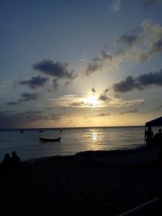 Atardecer, playa Crash Boat, Aguadilla