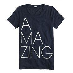 Linen tee in amazing - super t-shirt crush! - summer 2014 $42.50