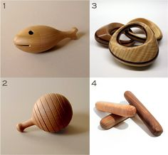 wooden rattles for babies