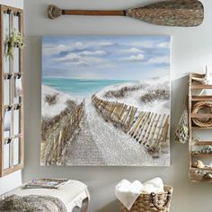 Sandy Pathways Canvas Art | Kirklands