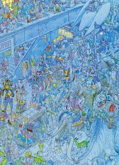 stunning Moebius... there's no waldo but keep looking.... wow.