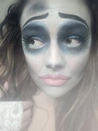 corpse bride Halloween makeup :)